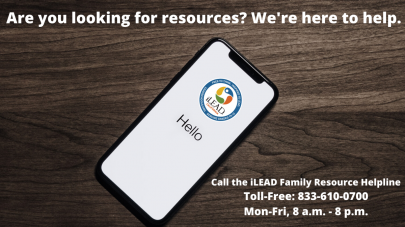 iLEAD Agua Dulce Family Resource Helpline