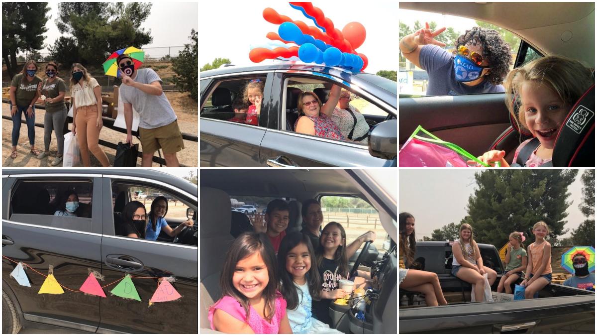 iLEAD Agua Dulce Welcome Back Parade