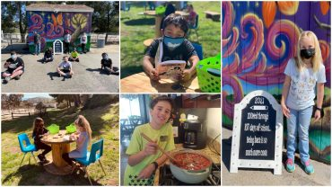 iLEAD Agua Dulce learners collage campus back to school